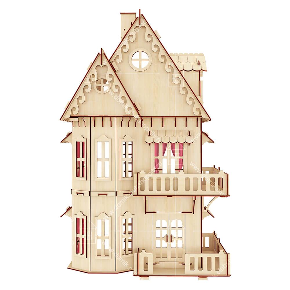 кукольный домик из фанеры купить киев